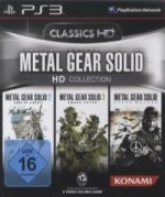 Metal Gear Solid HD Collection, PS3-Blu-ray Disc