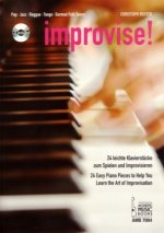 improvise!, für Klavier, m. Audio-CD