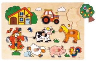 Steckpuzzle Bauernhof