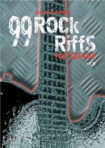 99 Rock Riffs for Guitar, m. Audio-CD