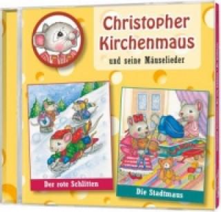 Christopher Kirchenmaus und seine Mäuselieder - Der rote Schlitten. Die Stadtmauss