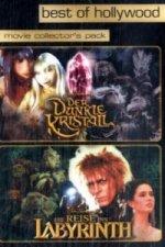 Der dunkle Kristall / Die Reise ins Labyrinth, 2 DVDs