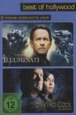 Illuminati / The Da Vinci Code - Sakrileg, 2 DVDs