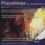 Playalong für Saxophonisten, 1 Audio-CD. Vol.1