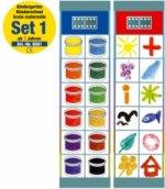 Flocards Kindergarten (Lernspiel). Set.1