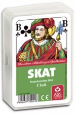 Skat, Club, französisches Bild (Spielkarten)