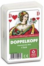 Doppelkopf, Club, Französisches Bild (Spielkarten)