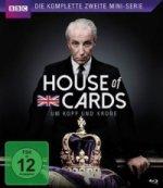 House of Cards - Die komplette zweite Mini-Serie. Staffel.2, 1 Blu-ray