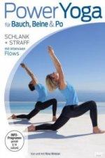 Power Yoga für Bauch, Beine & Po schlank und straff mit intensiven Flows, 1 DVD