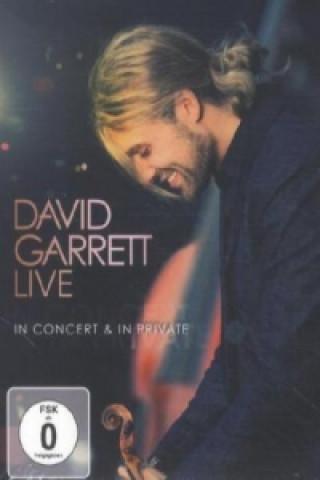 David Garrett Live - In Concert & in Private, 1 DVD