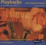 Playbacks zum Improvisieren, 1 Audio-CD. Vol.2