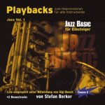 Playbacks zum Improvisieren für alle Instrumente - Jazz, 1 Audio-CD. Vol.1