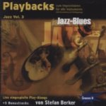 Playbacks zum Improvisieren - Jazz, 1 Audio-CD. Vol.3