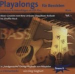 Playalong für Bassisten, 1 Audio-CD. Vol.1