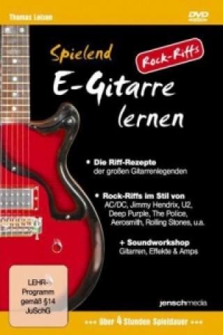 Spielend E-Gitarre lernen - Rock Riffs
