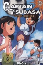 Captain Tsubasa - Super Kickers, 5 DVDs. Box.2
