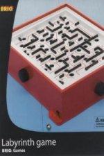 BRIO Labyrinth mit Übungsplatten, rot