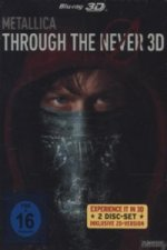 Metallica - Through The Never 3D + 2D (Steelbook), 2 Blu-rays