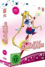 Sailor Moon - Box 1. Vol.1, 6 DVDs