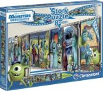 Monsters University (Kinderpuzzle), Story Puzzle in 8 Frames