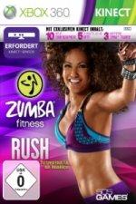 ZUMBA Fitness Rush, 1 Xbox360-DVD