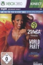 ZUMBA Fitness World Party, 1 Xbox360-DVD