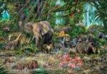 Afrikanischer Urwald (Puzzle)