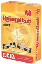 Wort Rummikub Kompakt, in Metalldose
