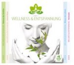 Wellness & Entspannung, 4 Audio-CDs