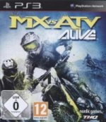 MX vs. ATV - Alive, PS3-Blu-ray Disc
