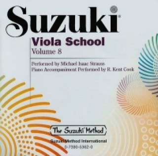 Suzuki Viola School. Vol.8