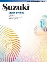 Suzuki Violin School Piano Accompaniment. Vol.6