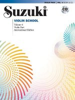 SUZUKI VIOLIN SCHOOL VOLUME 6 VIOLIN PART CD