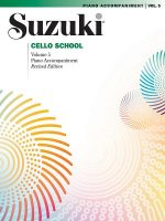 Suzuki Cello School, Piano Accompaniment. Vol.5