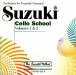 Suzuki Cello School, 2 Audio-CDs. Vol.1+2