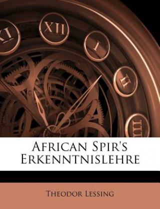 African Spirs Erkenntnislehre