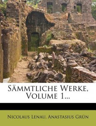 Nicolaus Lenaus Sämmtliche Werke, erster Band
