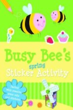 Spring Sticker Activity Busy Bees
