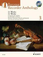 Baroque Recorder Anthology, für Alt-Blockflöte und Klavier, m. Audio-CD