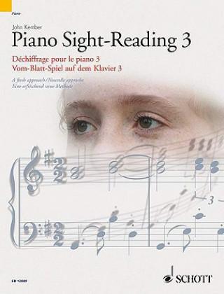 Vom-Blatt-Spiel auf dem Klavier. Sight-Reading. Dechiffrage pour le Piano. Tl.3