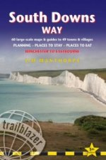 South Downs Way: Trailblazer British Walking Guide
