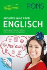 PONS Audiotraining Profi Englisch, 2 Audio-CDs