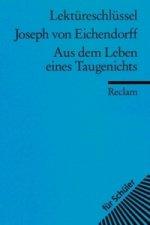 Lektüreschlüssel Joseph von Eichendorff 'Aus dem Leben eines Taugenichts'
