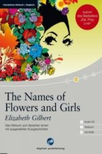 The Names of Flowers and Girls, 1 Audio-CD + Textbuch + 1 CD-ROM