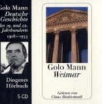 Weimar, 5 Audio-CDs