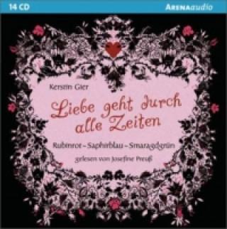 Liebe geht durch alle Zeiten, 14 Audio-CDs