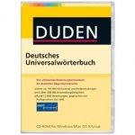 Duden Deutsches Universalwörterbuch, 1 CD-ROM