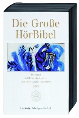 Die große Hörbibel, Die Bibel nach Martin Luther, Altes und Neues Testament, 8 MP3-CDs