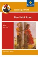 Peter Härtling 'Ben liebt Anna', Lesebegleitheft