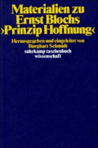 Materialien zu Ernst Blochs Prinzip Hoffnung